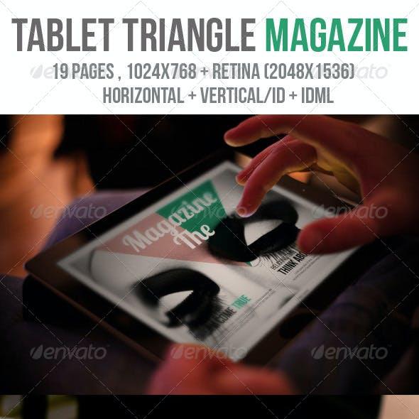 iPad & Tablet Triangle Magazine