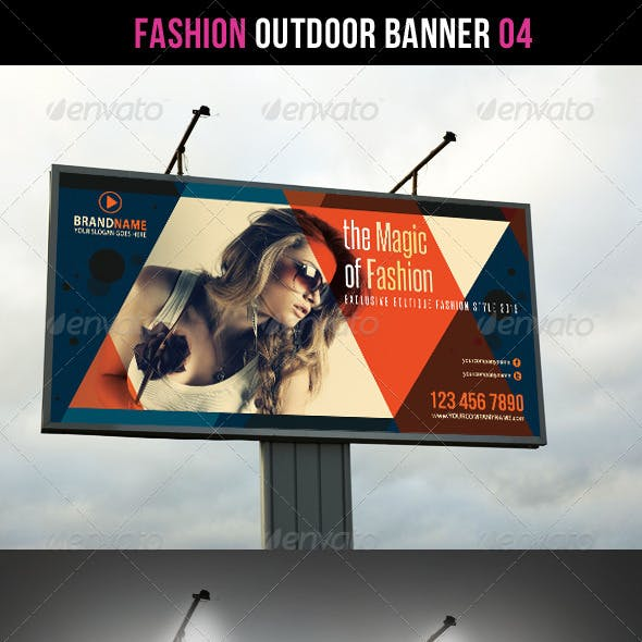 Fashion Outdoor Banner 04