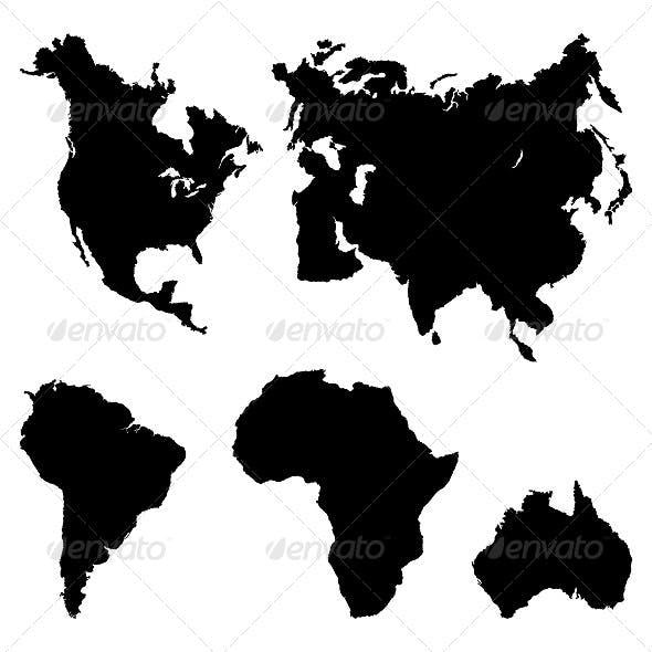 Continents Pictogram