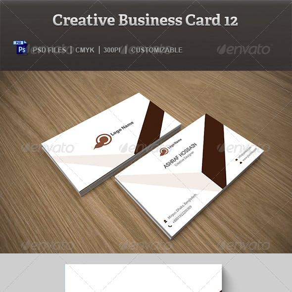 Creative Business Card 12