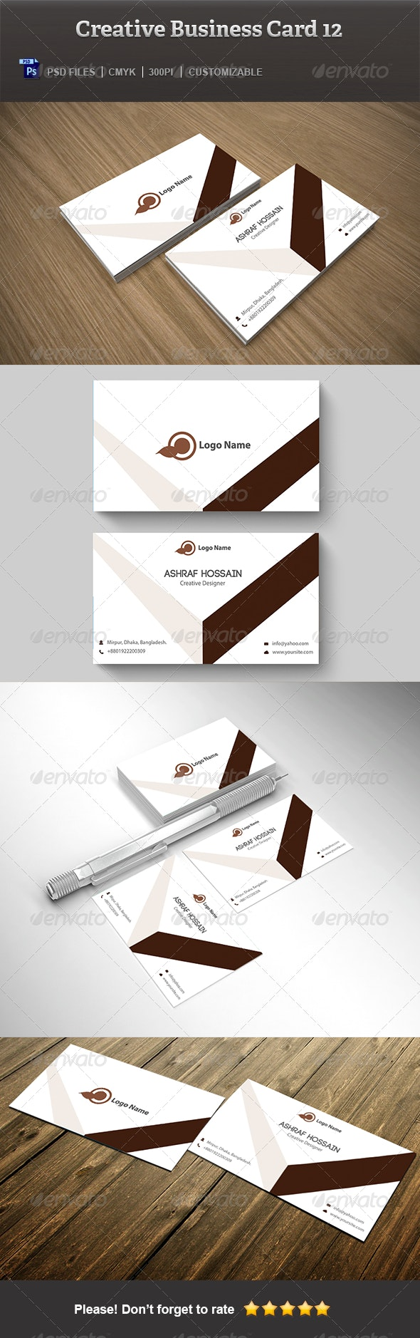 Creative Business Card 12 - Corporate Business Cards