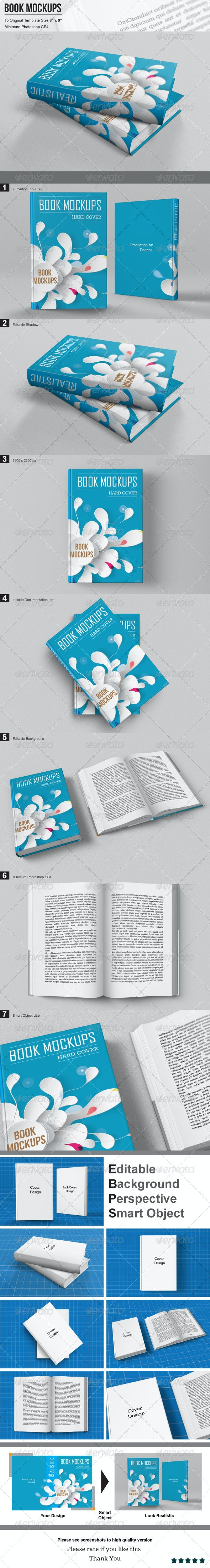 Book Mockups - Books Print