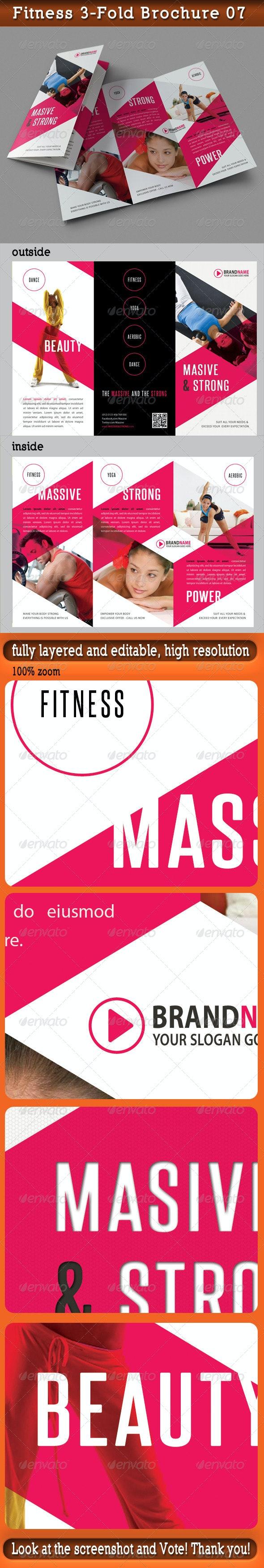 Fitness 3-Fold Brochure 07 - Catalogs Brochures