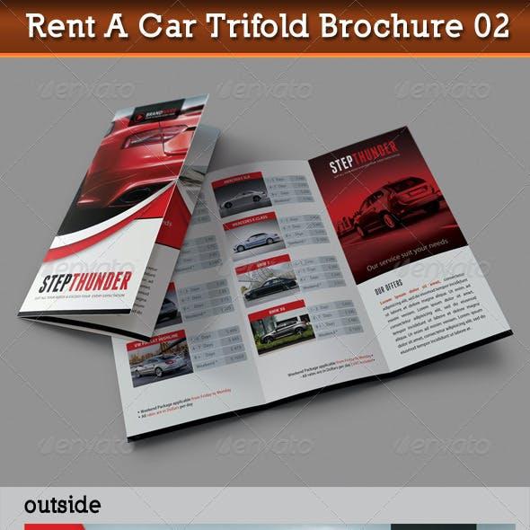 Rent A Car Trifold Brochure 02