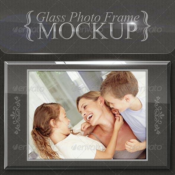 Glass Photo Frames - Mockup