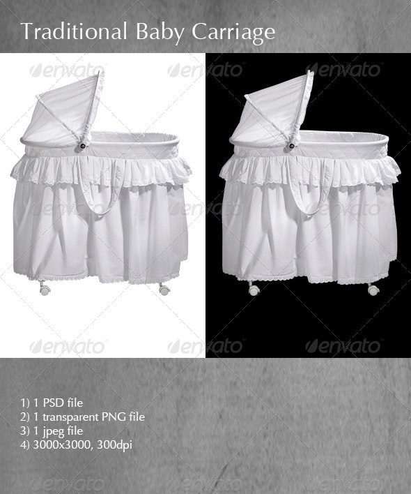Traditional Baby Carriage