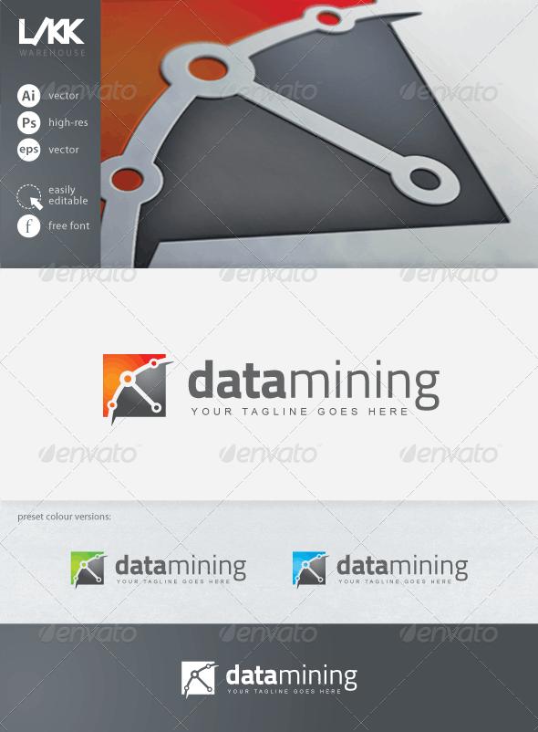 DataMining Logo - Objects Logo Templates