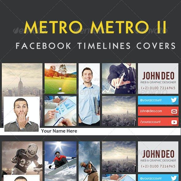 Metro Metro II FB Timeline Covers