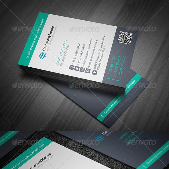 Clean Business Card Vol. 01