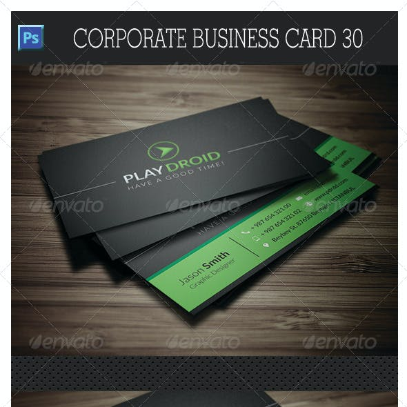Corporate Business Card 30