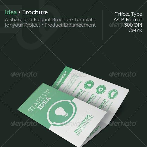 Idea - Trifold Brochure