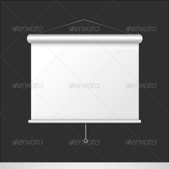 Blank Roll Up Posters Set