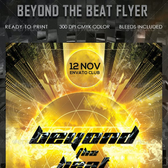 Beyond The Beat Flyer