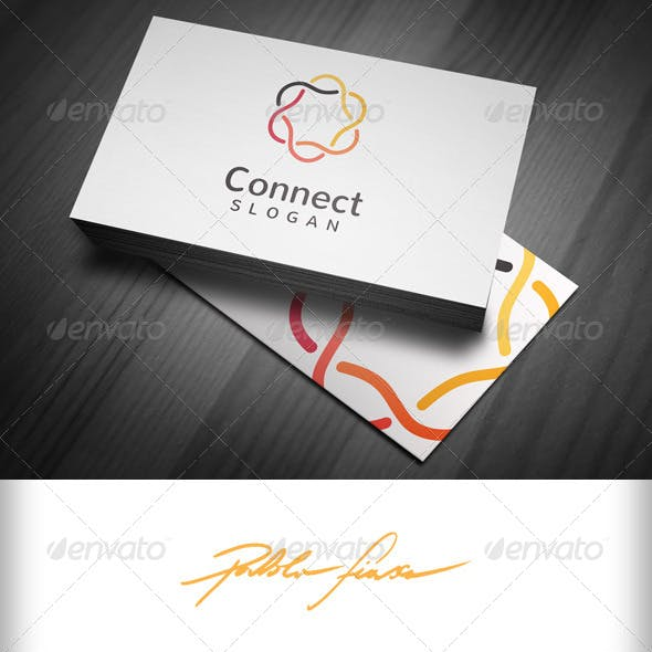 Connect Business Logo - Connected Circles Logo