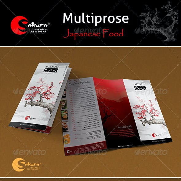 "Menu Pack ""Sakura"""