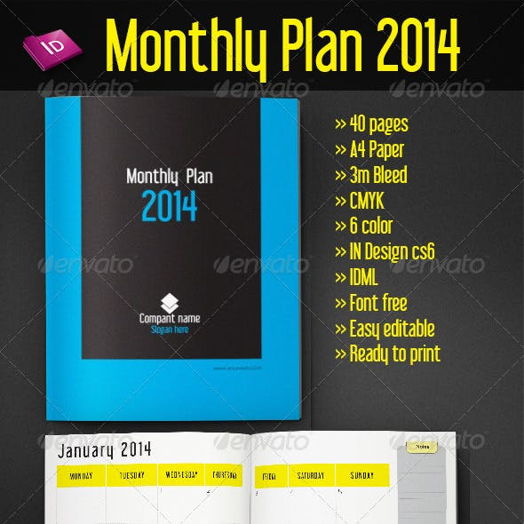 Monthly Plan 2014