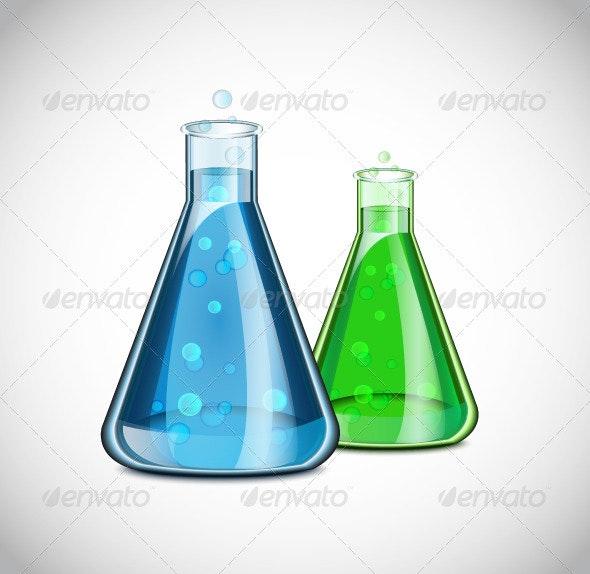 Chemical Icon - Miscellaneous Conceptual