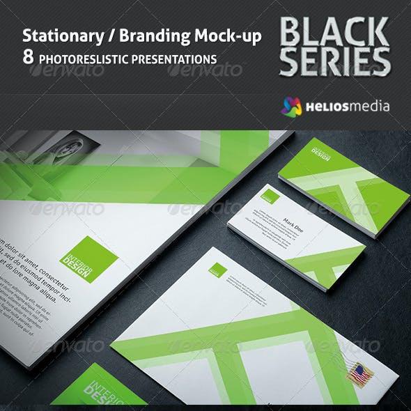 Stationery / Branding BlackSeries Mockup