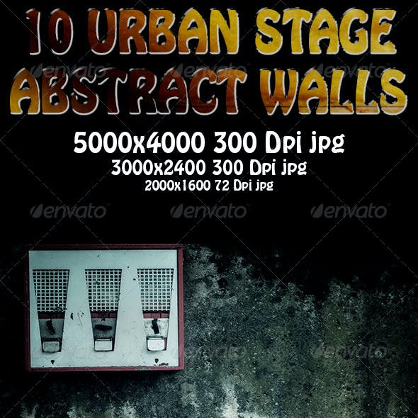 10 Urban Stage - Abstract Walls