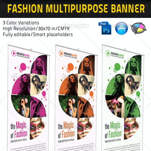 Fashion Multipurpose Banner Template 05