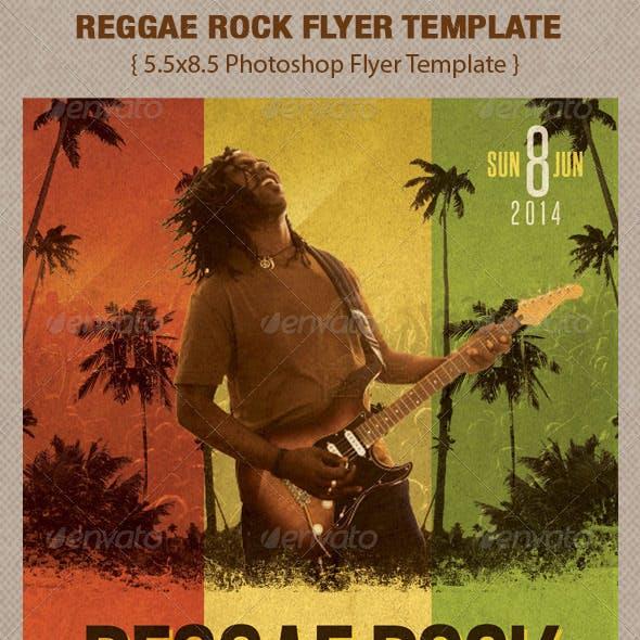 Reggae Rock Flyer Template