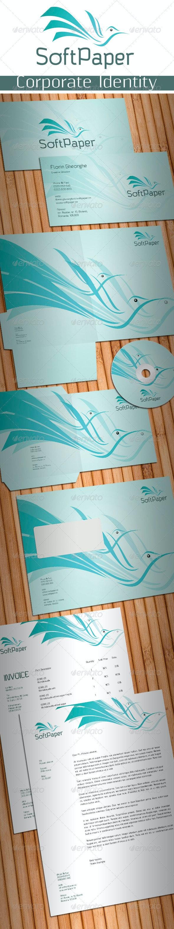 Soft Paper Stationery - Stationery Print Templates