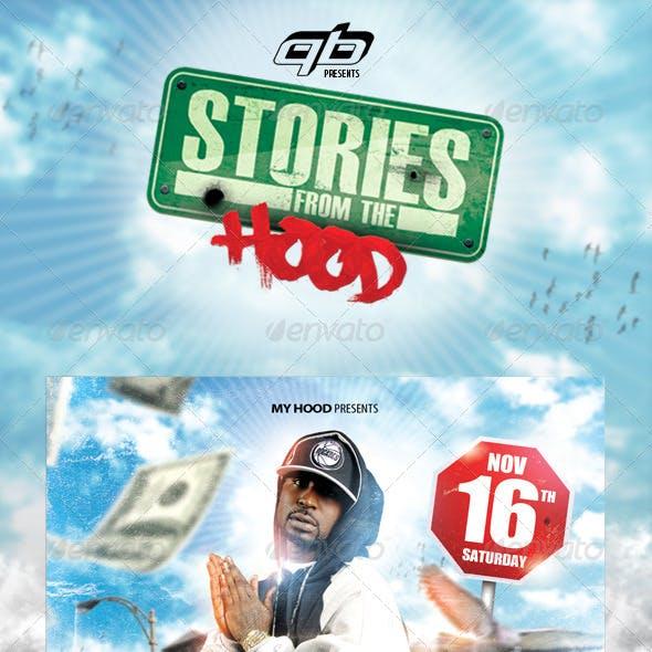 Hood Stories Flyer