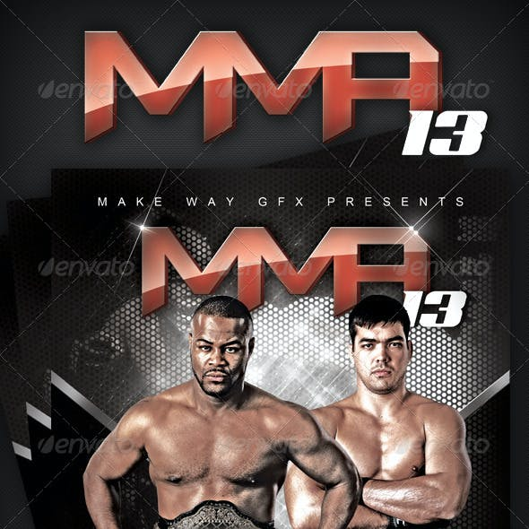 MMA 13 Poster