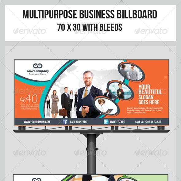 Multipurpose Business Billboard Template