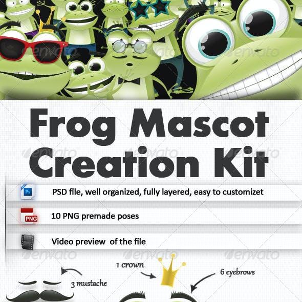Frog Mascot Creation Kit