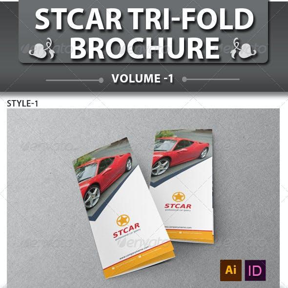 Automobile Business Tri-fold Brochure | Volume 1