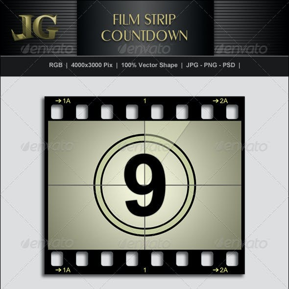 Movie Strip Countdown