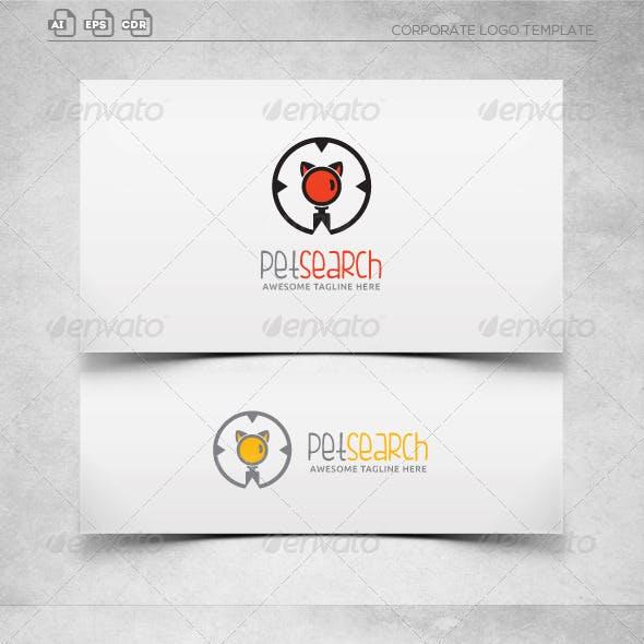 Pet Finder-Logo Template