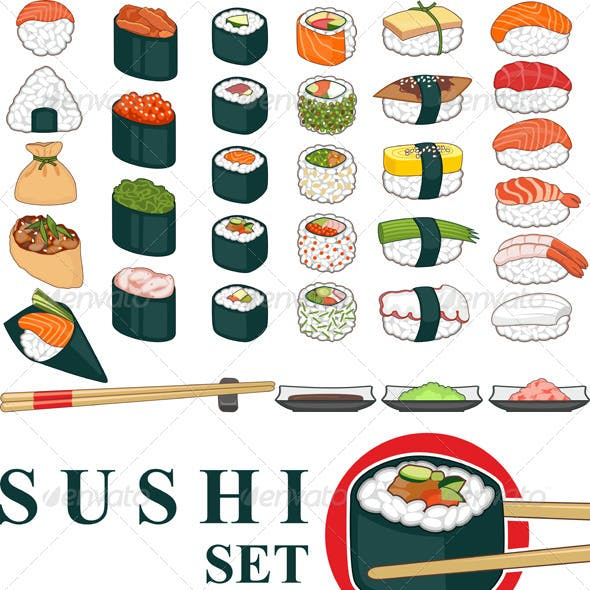 Big Sushi Set Various
