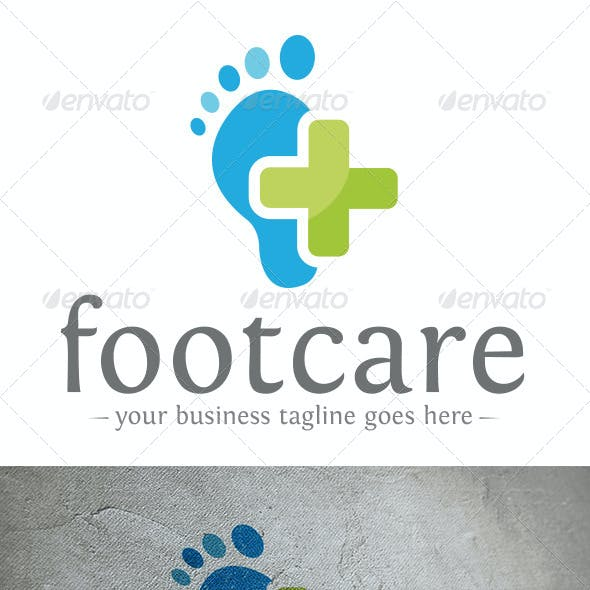 Foot Care Logo Template