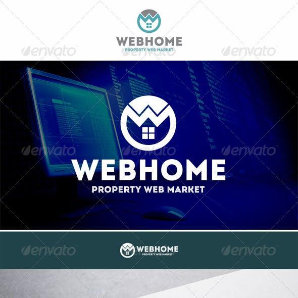 Web Home Property Logo