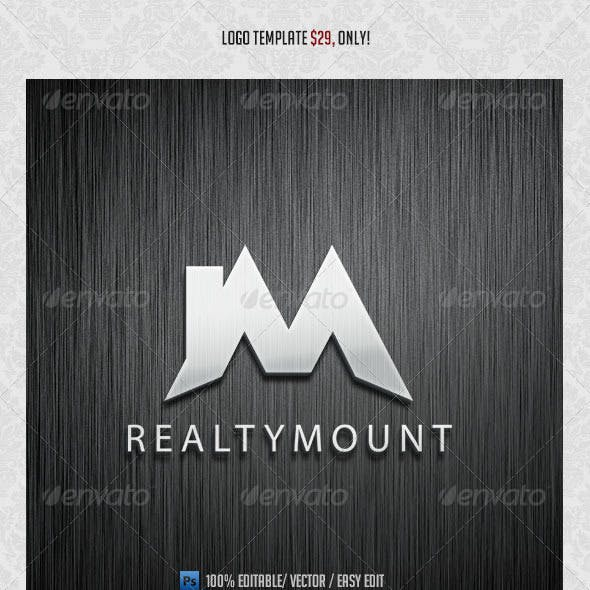 RealtyMount Logo Template