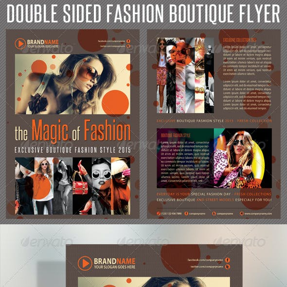 Fashion Product Flyer 04