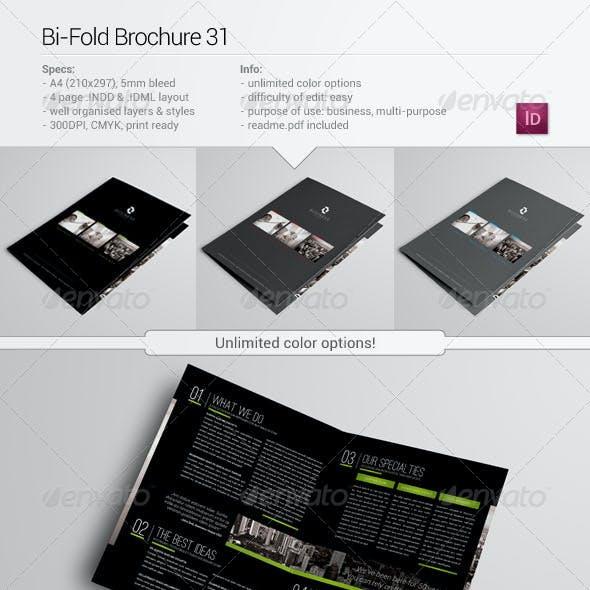 Bi-Fold Brochure 31