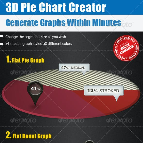 Charts Graphs Graphics, Designs & Templates from GraphicRiver