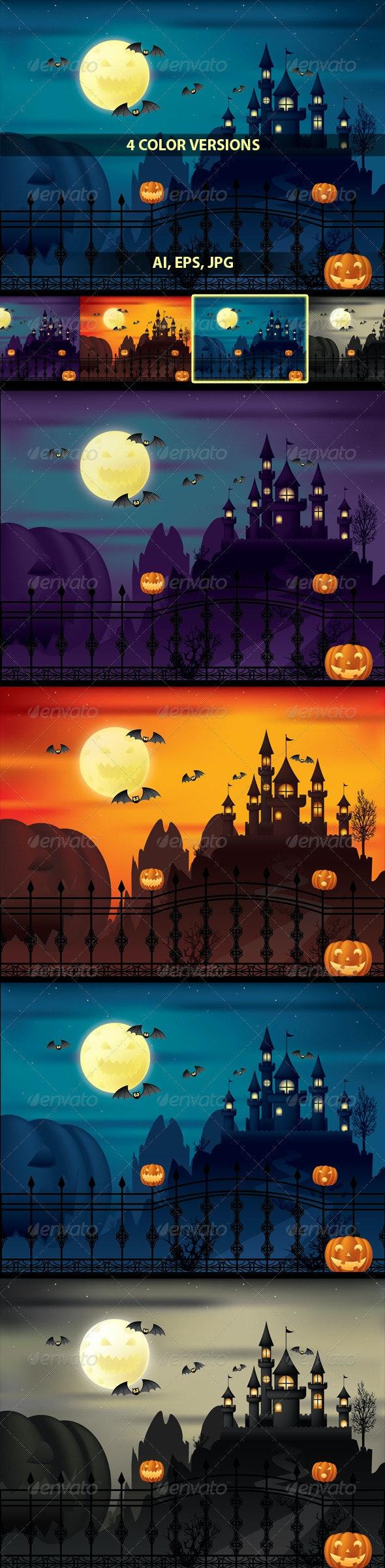 Halloween Moonlight - Halloween Seasons/Holidays