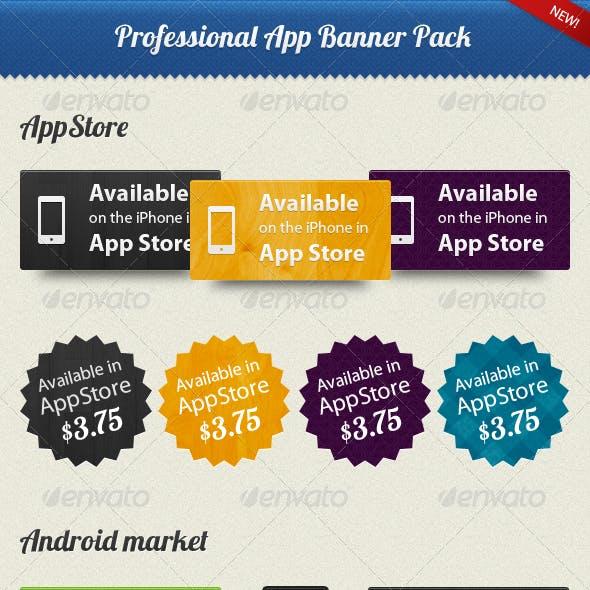 Professional App Banner Pack