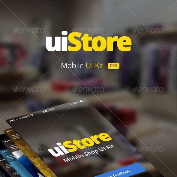 uiStore » Mobile UI Kit