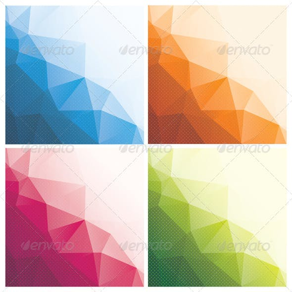 8 Abstract Triangle Backgrounds