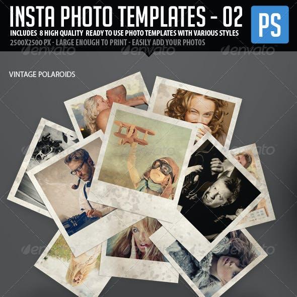 Insta Photo Templates (8 in 1)