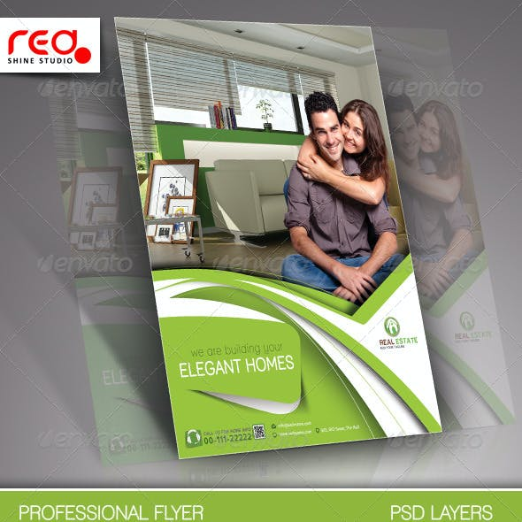 Real Estate Flyer & Poster Template