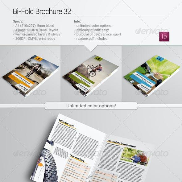 Bi-Fold Brochure 32