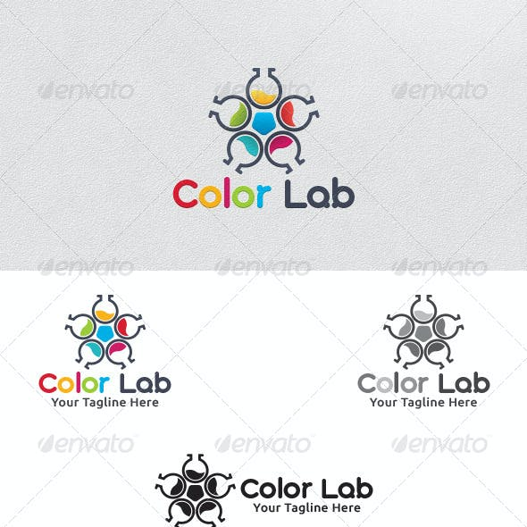Color Lab - Logo Template