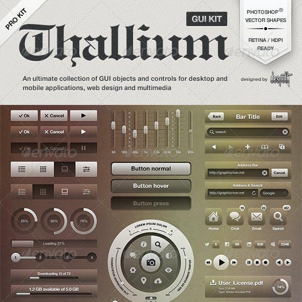 Thallium UI Kit
