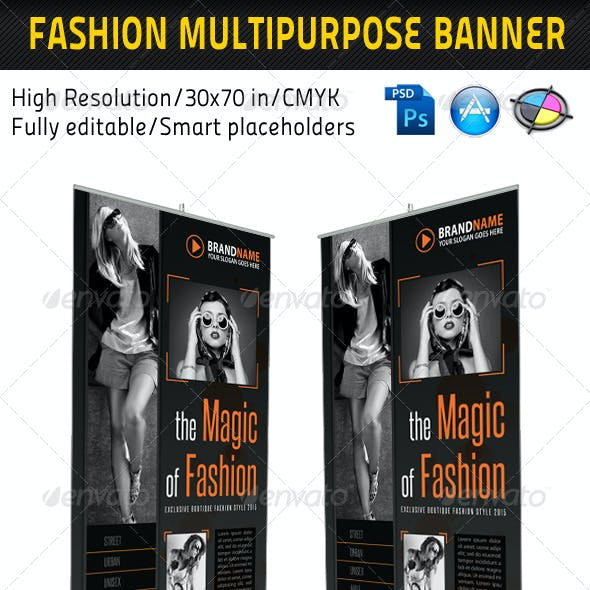 Fashion Multipurpose Banner Template 09